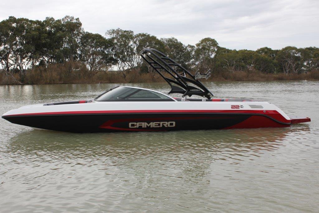 Home Camero Ski Boats - Decals for boats australia